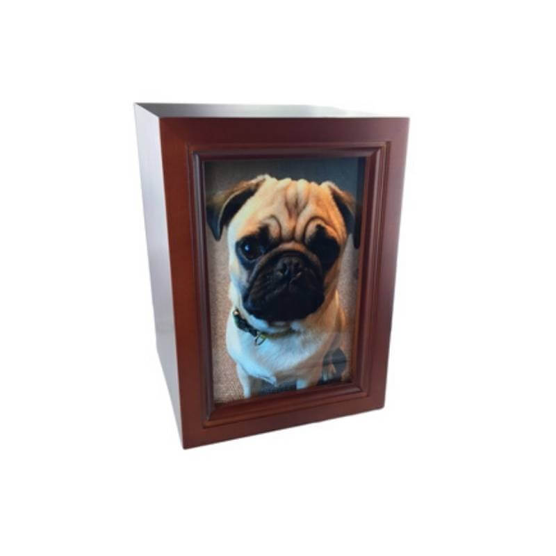 Pet Cremation Urn Photobox